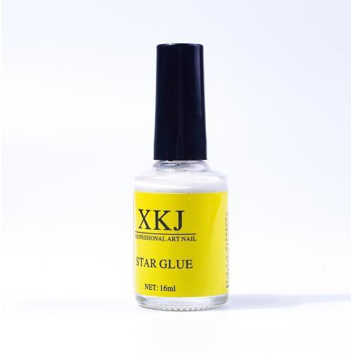 8 teile / los Weiß Nagel Kleber für Galaxy Star Folie Aufkleber Nail art 16 ml Transfer Dekoration Nägel Tipps Klebstoffe