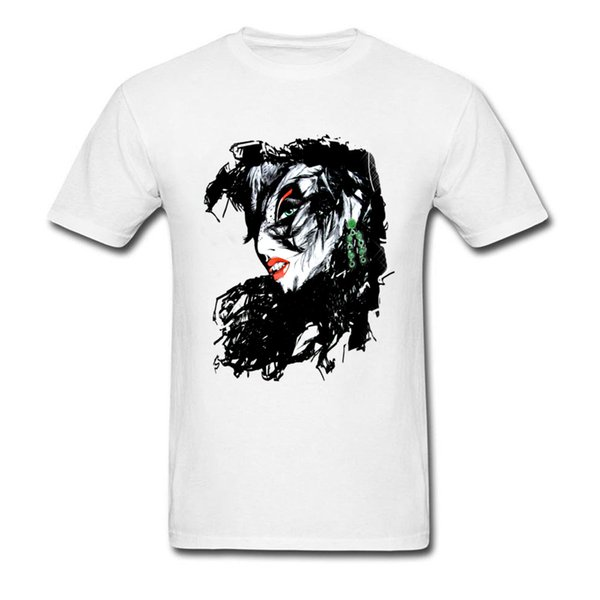 Raven Lady Graphic T-Shirts Sexy Vintage 3D Tee Shirts Men Pre Cotton T Shirts Good Quality Tops & Tees Hipster Tshirt Sex