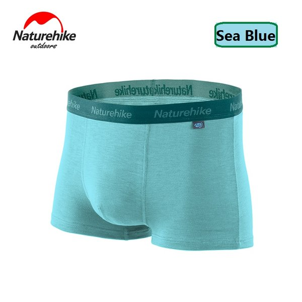 NatureHike Factory Store Breathable Perspiration Antibacterial Function Men Sports Quick-Drying Underwear Boxer Shorts