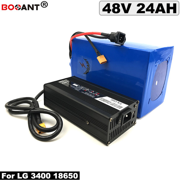 48v 24ah e-bike lithium battery for bafang bbshd bbs02 1000w 2000w motor electric bicycle battery 48v +5a charger ing