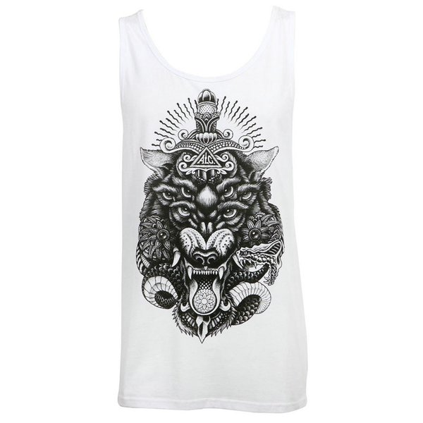 Alc Apparel Alpha V2 Tattoo Art Street Wear Slim-Fit Tank Top L New T Shirt Car-styling T-Shirts For Men Cotton Crewneck 3XL Short Sleeve Fu