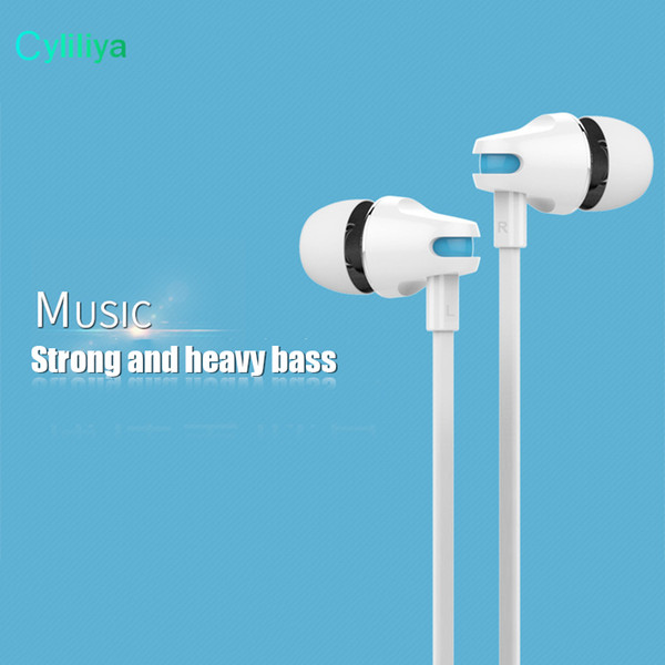 Newest Original Langston JV23 3.5MM IN-Ear Headphone Headset Earphone With Mic+Volume Control Fone De Ouvido
