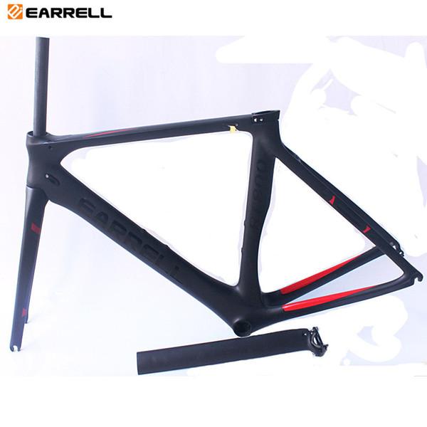 EARRELL Road Carbon Bike Frame Full carbon Road Bike Frame Road Carbon frame with 2 Year warranty