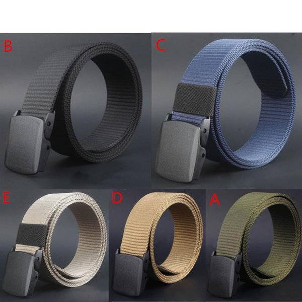 KANCOOLD leather belt Business Casual Wild brand belt female Men Canvas Hypoallergenic Metal free Plastic Automatic MAR26