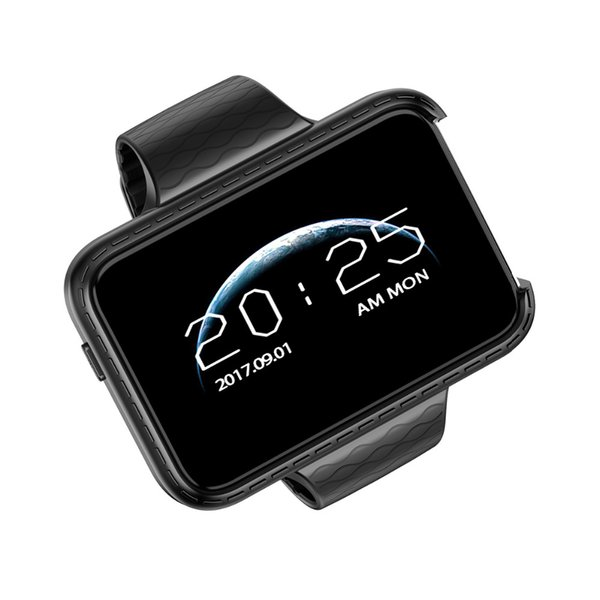 montre intelligente rectangle DM98 2,2 pouces SmartWatch coloré grand écran Mini voiture grand-angle Enregistrement vidéo Podomètre Smart bracelet