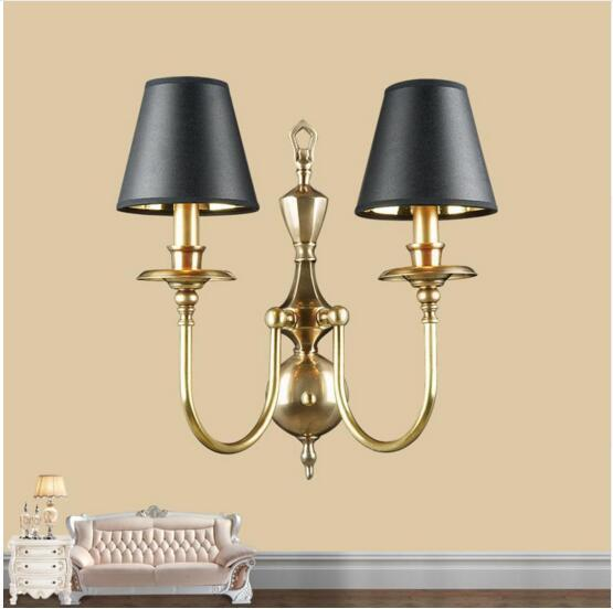 info for 4a6ca b9ed6 2019 Hotel Large Art Deco Wall Sconce With Lamp Shade Living Room  Restaurant Makeup Wall Lamp Copper Wall Candle Lights Arandela LED From  Royallamps, ...