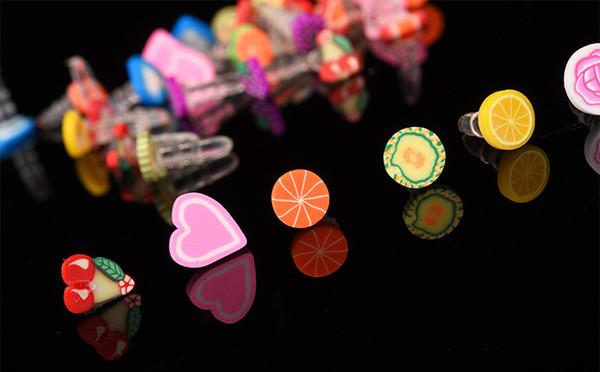 Toptan 3000 adet Sevimli Meyve Anti Toz Tak Iphone Ve Cep Telefonu Için 3.5mm Kulaklık Kap Ücretsiz Kargo