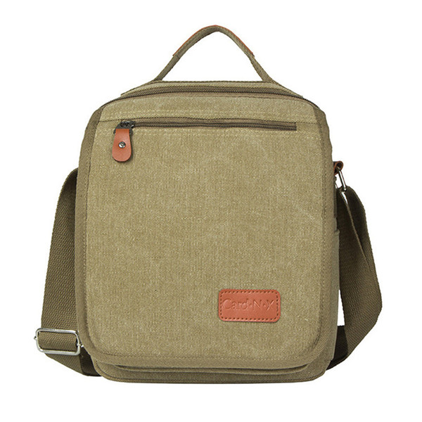 Hot Sale Men Casual Messenger Bag High Quality Canvas Shoulder Bag For men Business Travel Crossbody Sling briefcase Satchel