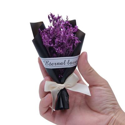 Wedding Party Supply Romantic Real Dry Flowers bouches Preserved Fresh Flowers New Trendy Decoration Bride Flowers Giveaway Gift