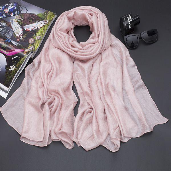 29 Colors Arificial Silk 190*100cm Designer Scarf Women Hijab Shawls Pashmina Head Wrap Scarves Table Blanket Beach Towel