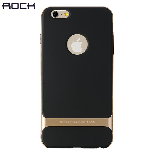 ROCK Royce Phone case For iPhone 6 6s 6plus, PC +TPU ultra-thin Luxury Back Cover for iPhone 6 Anti knock phone Shell