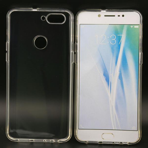 2pcs TPU rückseitige Abdeckungs-Fall für OPPO R11S R11S plus R15 R15 Traumspiegel-Ausgabe TPU ultra freier transparenter weicher Telefon-Kasten