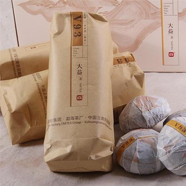 Vendite calde C-PE079 Vendita calda 100g Premium Tè Yunnan Puer, Tè Pu'er maturo Tè Puerh, Tè cinese antico Menghai Tree Tè organico