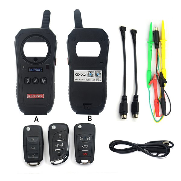 KEYDIY KD-X2 Car Key Garage Door Remote kd x2 Generater/Chip Reader/Frequency Tester/Access Card Copier