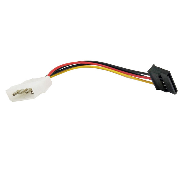 10pcs Molex To SATA Power Adaptor Cable Lead 4 Pin IDE Male To 15 Pin HDD Serial ATA Converter Cables