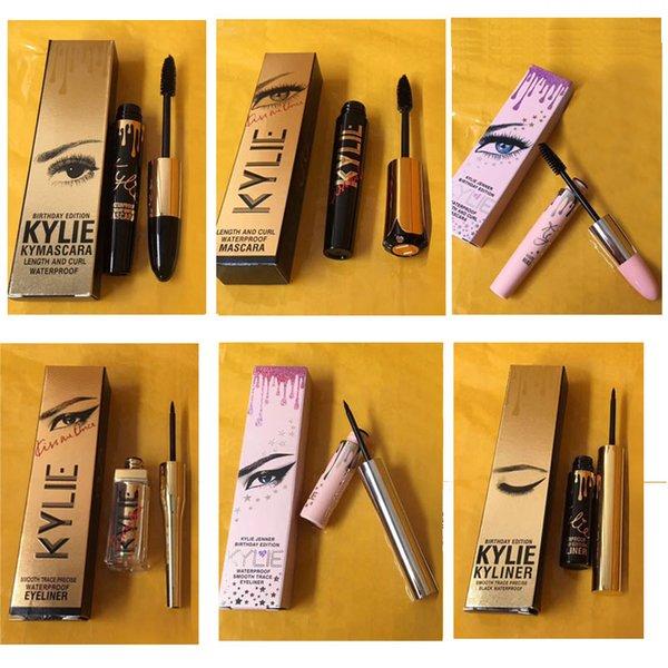 5ba9ee56503 Hot new makeup Kylie Jenner Mascara Magic thick slim waterproof mascara Eye Mascara  Eyeliner Long Eyelash