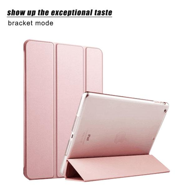 Ultra thin Slim Smart Silk Leather Cover Case For Apple i Pad 2 3 4 5 Air1 6 Air 2 Mini 1 2 3 4 Pro 9.7 Cases Wake up Sleep Capa