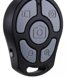 Meilleure vente Bluetooth Retardateur Contrôle À Distance Shutter Zoomable Focus Mobile Téléphone Appareil Photo Déclencheur pour Smartphone Transport Gratuit