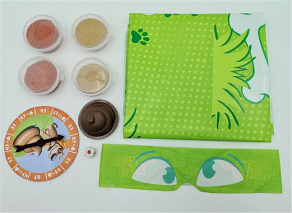 Giocattoli divertenti per la famiglia NON PASSO IN ESSO GIOCO GIOCHI Gioco Blindfolded Poo-Dodging Fun Family Party Game Toys
