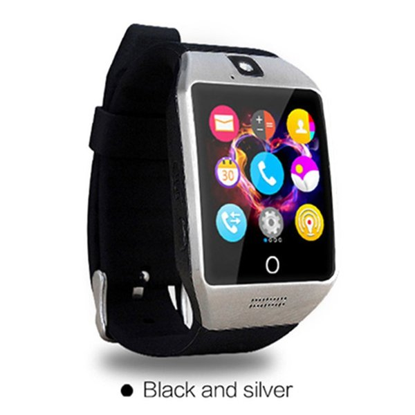 Q18s Smart Watch Support GSM SIM Card Audio Camera Fitness Tracker Pedometer for Android iOS Mobile Phone