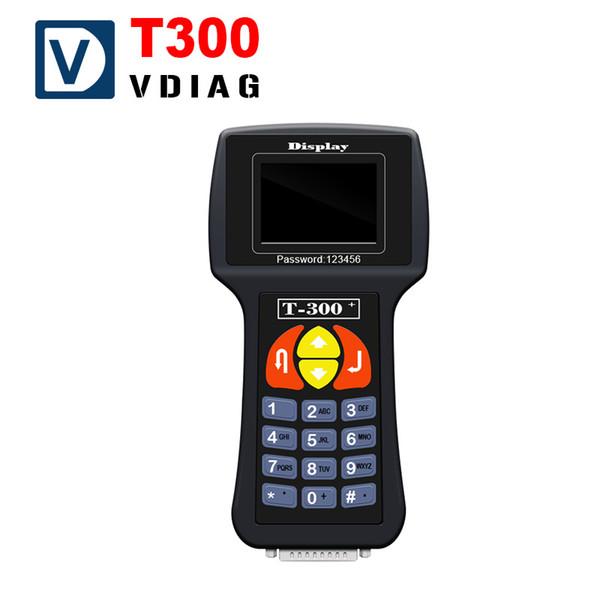 Herramientas de programación de la llave del coche T300 inglés / español T300 clave del transpondedor del coche programador clave dhl envío gratis