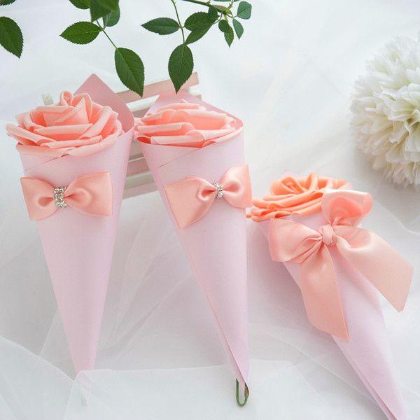 Rosa Box + Orange Rose + Orange Band