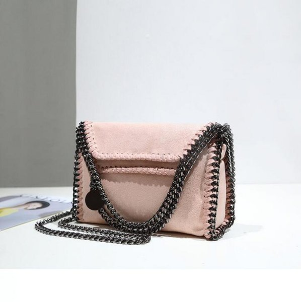 outlet brand handbag and explosion matte pearl fabric woman personality Chain Bag Handmade custom pearlescent leather hand bag