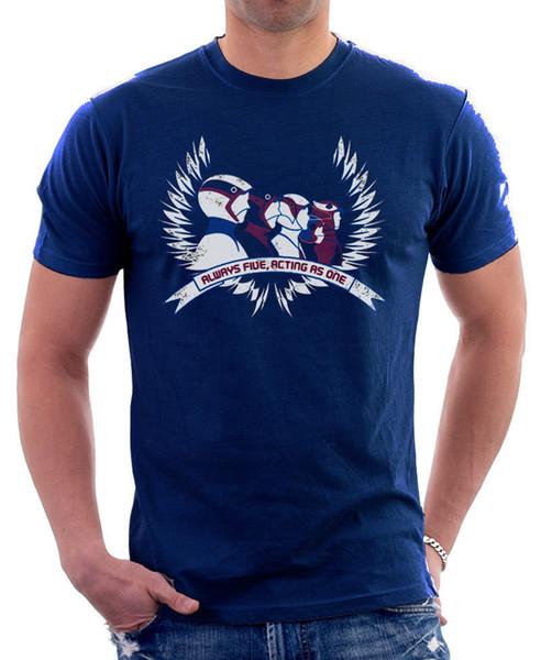 BATTLE OF THE PLANETS G-FORCE LOGO RETRO 80s Cartoon navy t-shirt OZ9805 Cool Casual pride t shirt men Unisex