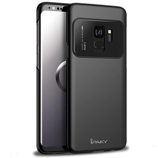 iPaky Case For Samsung Galaxy S9 Plus PC & Glass Ultra Thin Back Cover SM S9+ Drop-proof Hard Cases With Package In Stock