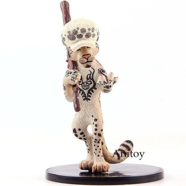One Piece Trafalgar Law Action Figure as Snow Leopard PVC Onepiece Anime Collectible Model Toy