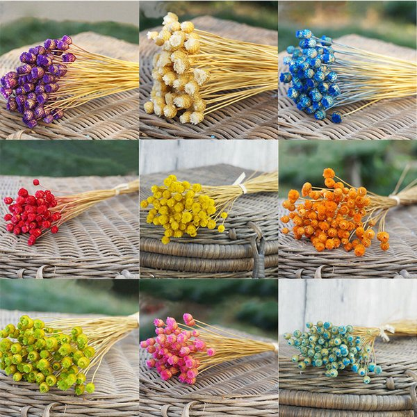 50 pcs / lot home decor bouquet of dried flowers, natural dried flowers decorative wedding photography props