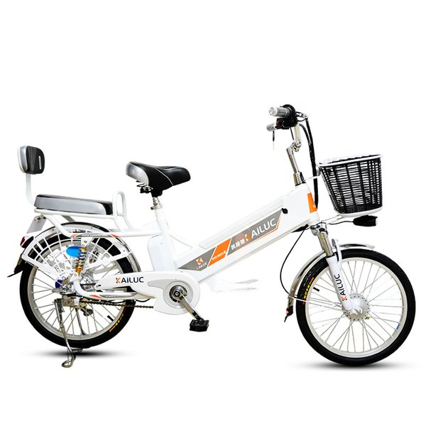 20/24inch electric bicycle 60V Lithium Battery Adult 350W Rear wheel Moped Scooter Motorcycle Battery Climbing 35 Ebike