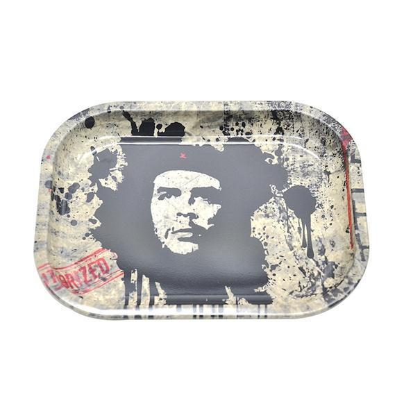 Custom design Cigarette Rolling Tray Green Lady Smoking Rolling Tray Specific cutouts for lighters blunts papers filter tips vape tanks