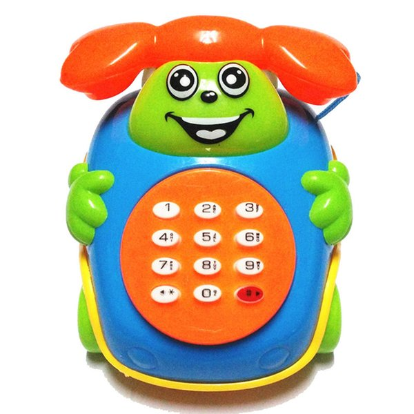 2016 Bebek Oyuncakları Müzik Karikatür Telefon Eğitici Gelişim Çocuk Oyuncak Hediye Yeni Dropshipping Ücretsiz Kargo, XL30