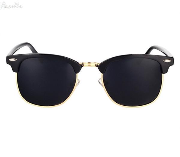 Clásico gafas de Sol Polarizadas Hombres Mujeres Retro Diseñador de la  Marca de Alta Calidad Gafas a8f377f0ca52