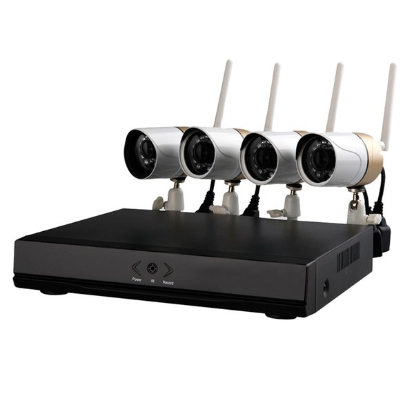 WANSCAM HW0047 WiFi 4 IP Camera with NVR HDMI 720P IR Cut for Record Alarm cctv systems