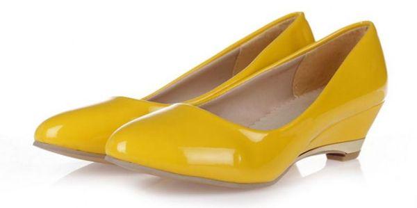 Free send 2016 spring fashion Coarse heel waterproof table round head high heel women's single shoes @02