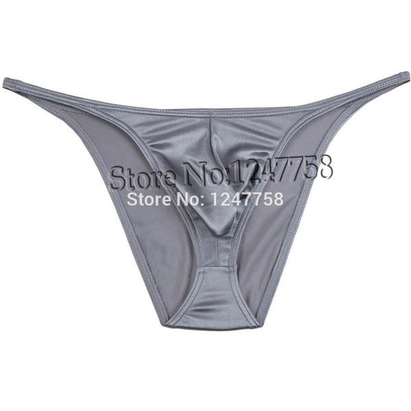 Sexy Micro Tanga Hosen Herren String Shiny Bikini Briefs Unterwäsche