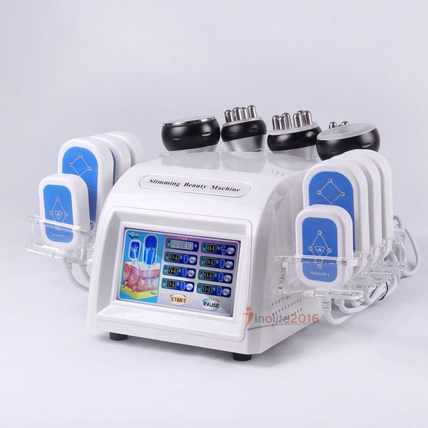 Strong Effect Cavitaton Laser Slimming Weight Loss Body Shaping lipolaser Fat Burning Vacuum Cellulite Remove RF Skin Tightening Machine
