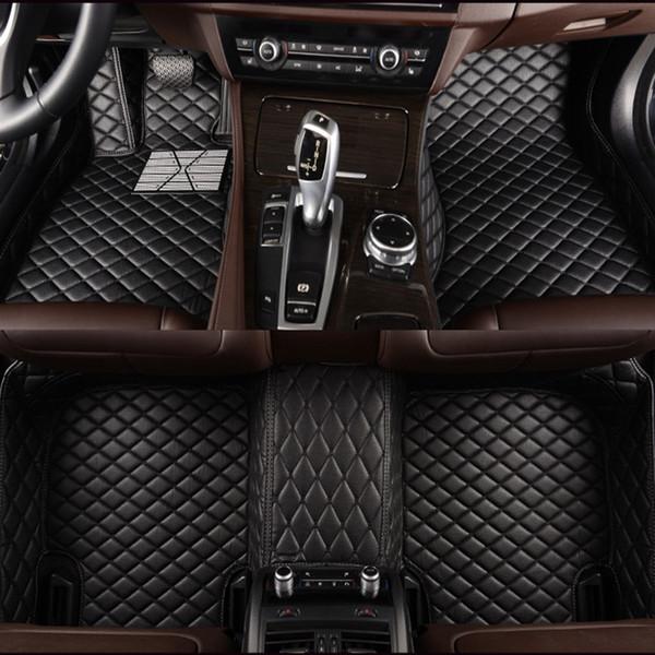 top popular Custom car floor mats For all model Grand Vitara Kizashi Swift JIMNY Wagon alivio SX4 X5 LANDY car accessories 2019