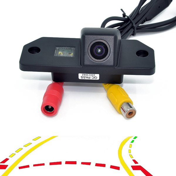 Dynamic Trajectory Tracks Parking Line Telecamera per retromarcia inversa per Ford Focus Mondeo C-Max 2000-2010