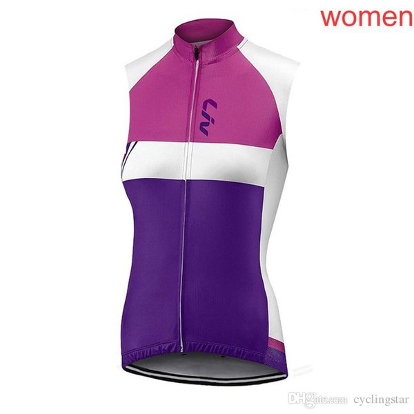 New Liv Cycling jersey 2018 women ropa ciclismo mujer Summer sleeveless VEST mtb bike clothing cycling clothes China bicycle shirts M1401