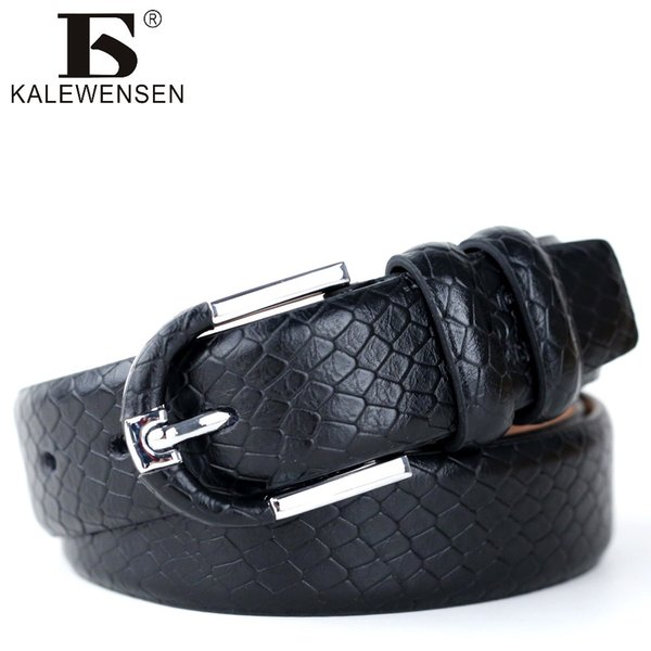 Mens Cow Genuine Leather Luxury Strap Male Belts for Men 3 Colors Vintage Pin Buckle Belt Man casual round strap LJ015