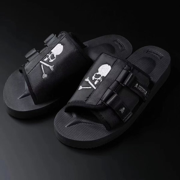 justores / 2018SS Mastermind JAPAN x Suicoke MOTO-VS MMJ Gladiator Sandals Fashion Men And Women Summer Slippers Beach Outdoor Shoes