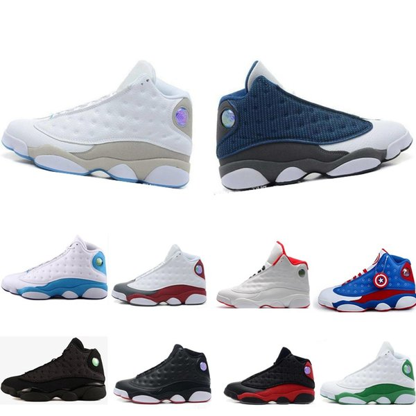 Cheap Wholesale NEW 13 13s mens basketball shoes sneakers women Sports trainers running shoes for men designer shoes Size 5.5-13