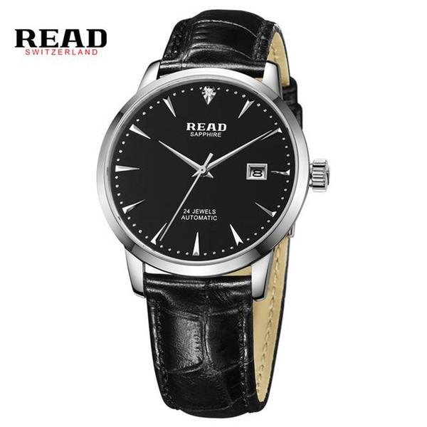 LEER a los hombres ver relojes mecánicos automáticos completos de la serie Royal Knight R8047