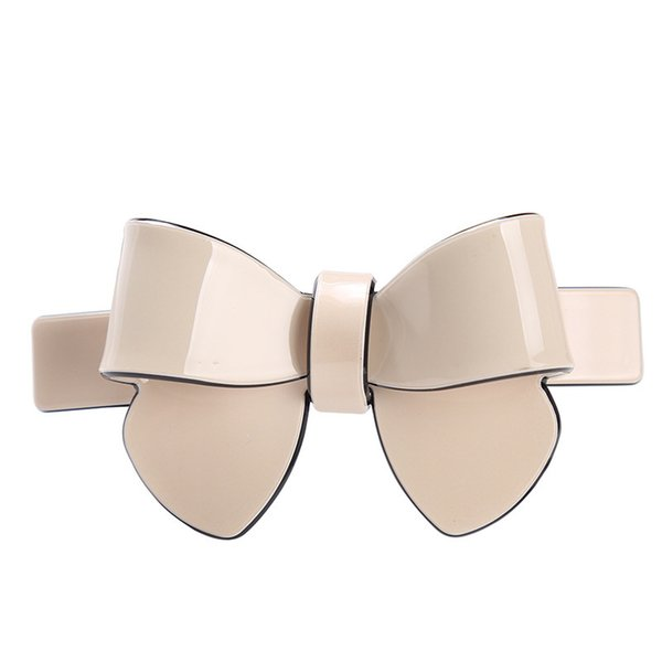 Fashion Butterfly Hairpins Acetate Top Clips Accessories For Women hair jewelry hair spring Pins and clips bow tie tiara Girls S918