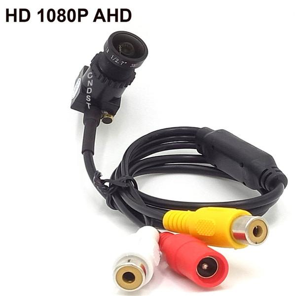 Mini Square 1080P HD AHD Kamera 2.0MP StarLight 0.0001 Lux Sicherheit CCTV-Kamera mit f2.8mm Objektiv Audio, Sony 323