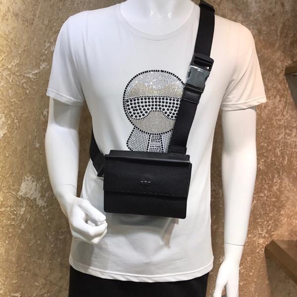 F673 borsa da uomo in pelle togo di qualità superiore toppest con 3 colori borse moda croce corpo fare borsa petto tutti i lavori manuali