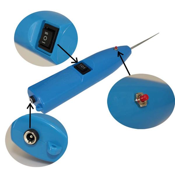 JiuTu OLED Courbe Écran OCA Colle Suppression Outil Pour iPhone X Pour Samsung S8 S9 Fissuré LCD Bleu Couleur